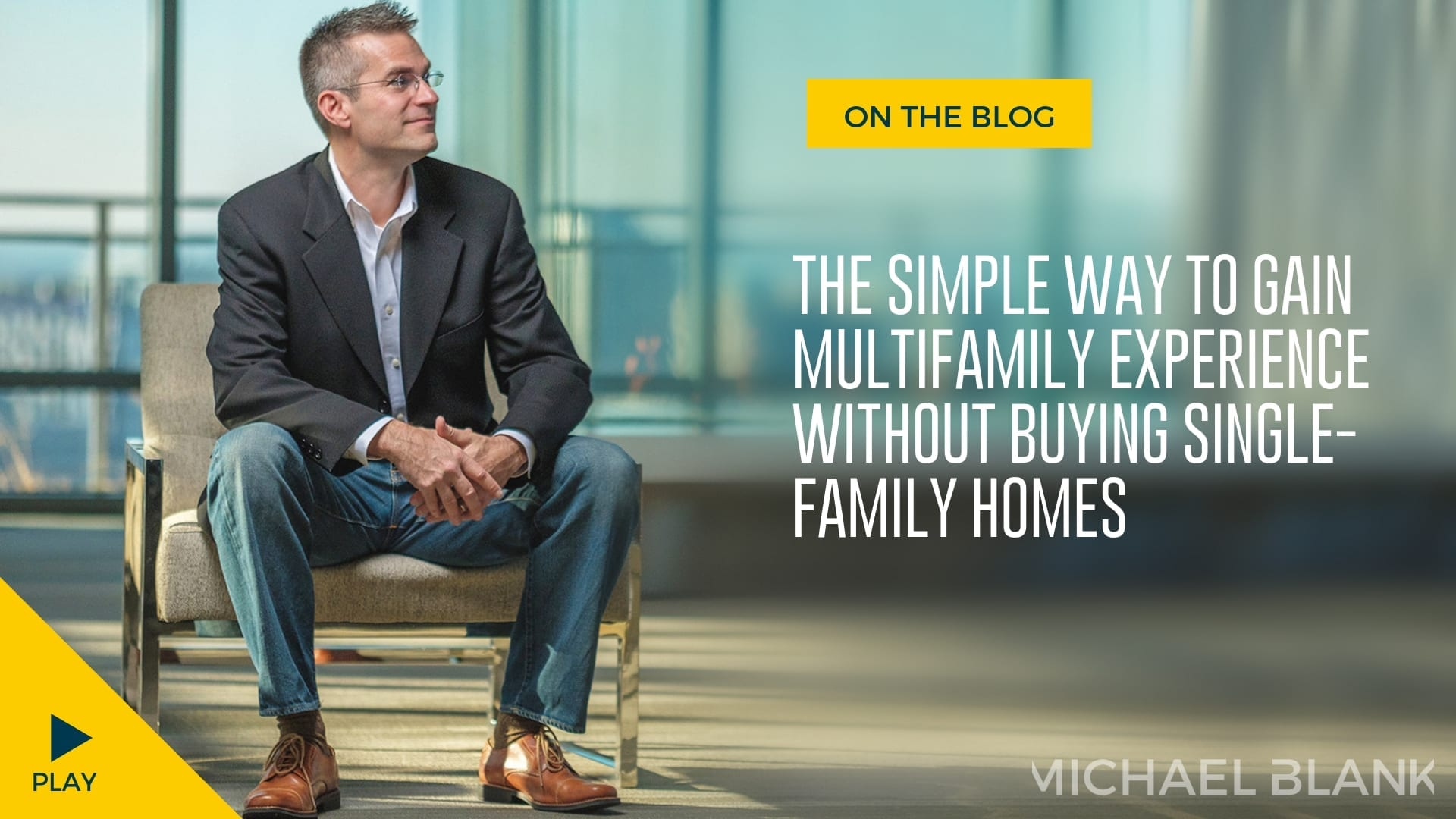 The Simple Way to Gain Experience For Multifamily Investing Without Buying Single Family Homes