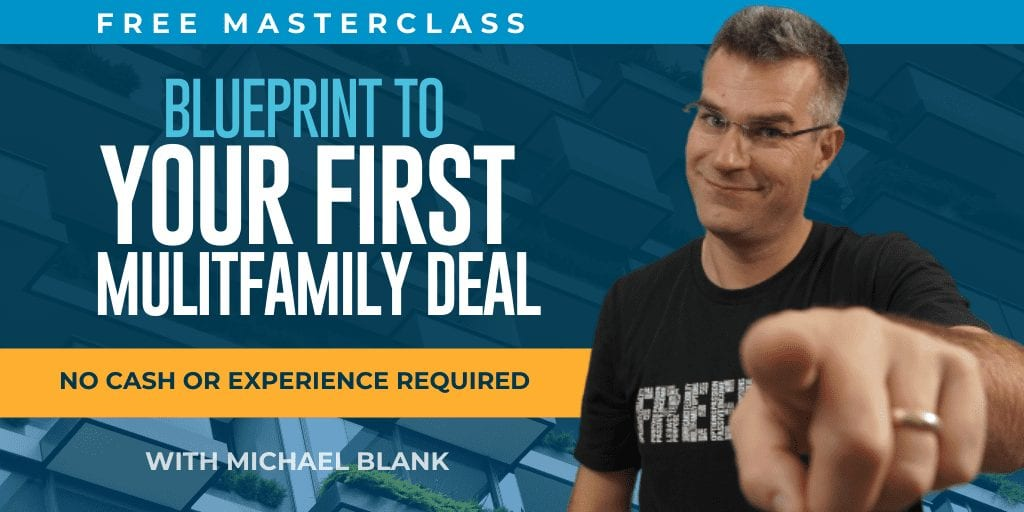 Blueprint to your first multifamily deal - free webinar