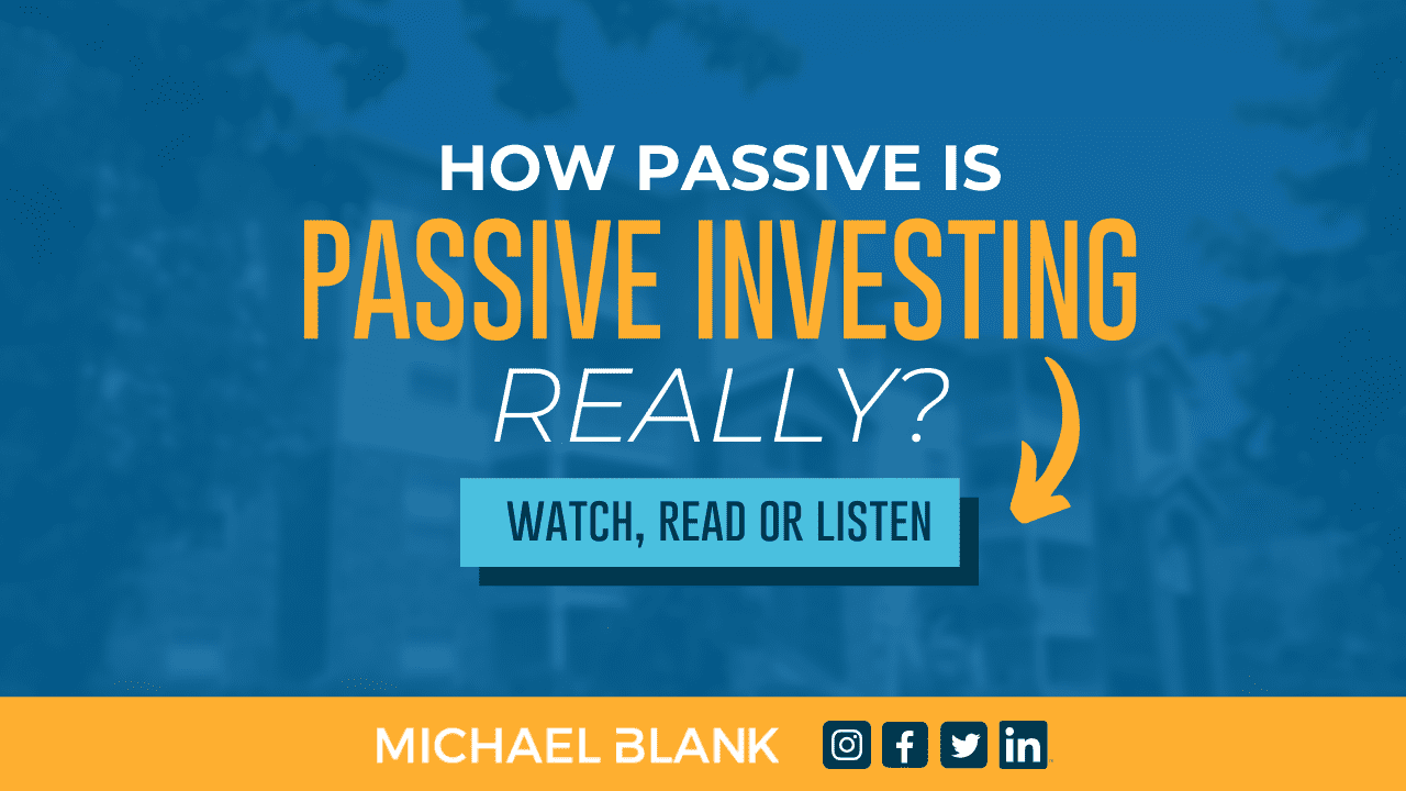 How Passive is Passive Investing Really