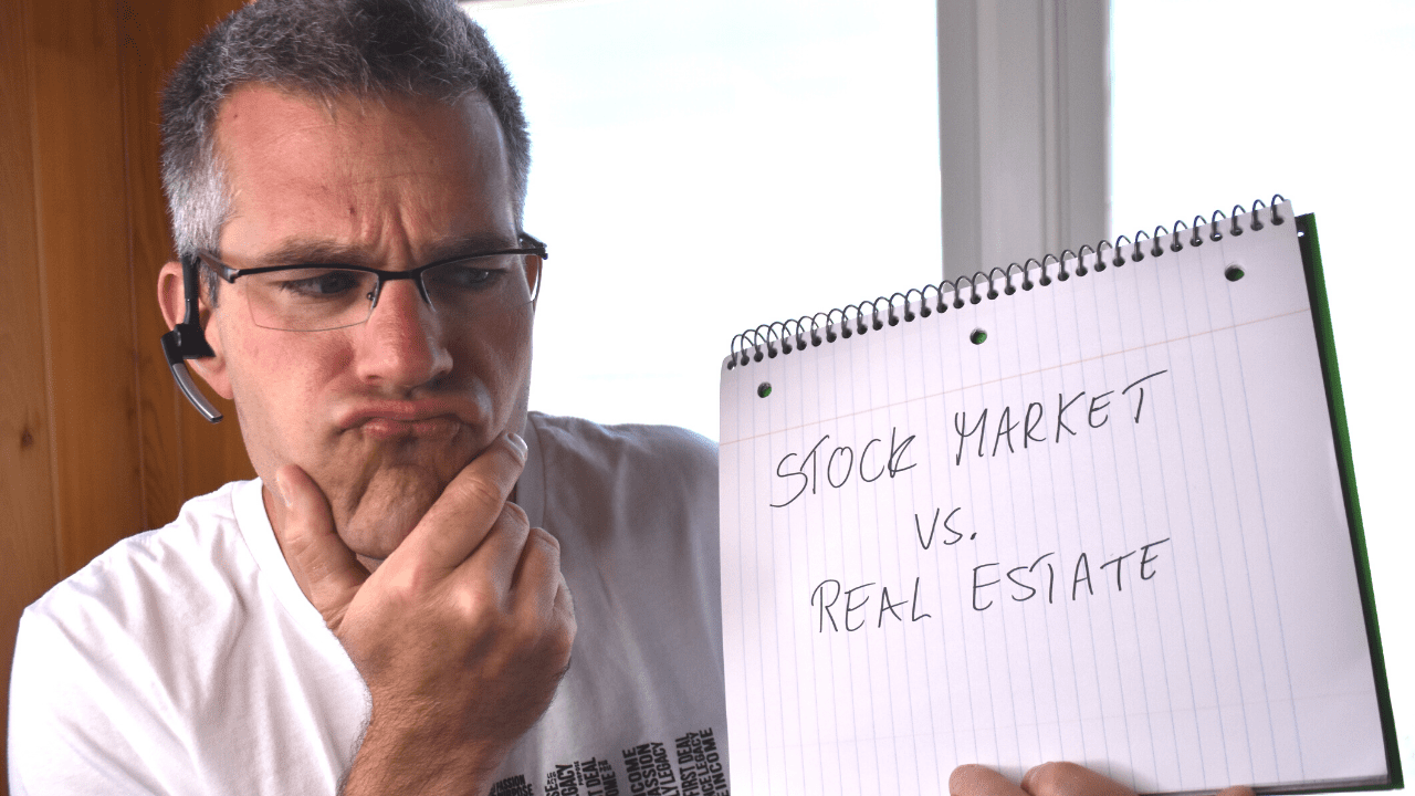 Why Should I Invest in Real Estate vs. The Stock Market?